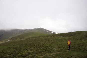 3-Etappe Gründerweg Übergang zum Kumpitzstein (1.924 m) , © G&L