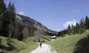 Route 856, Gehöft Steinschale kurz vor Pretal (Zeller Staritzen), © G&L