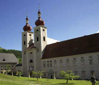 Benediktinerstift Sankt Lambrecht. Foto: G&L